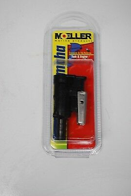 New Moeller Fuel Connectors moeller 3350110 Connector Tank Fitting Chrome//Brass