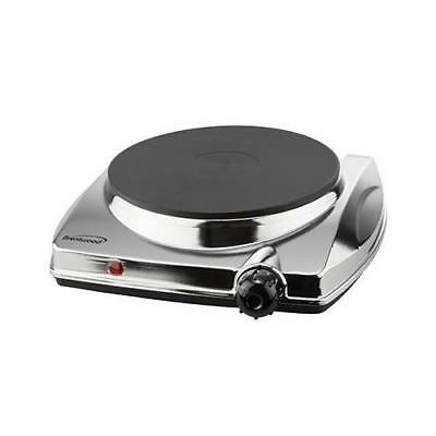 Brentwood Electric Hot Plate 1000W SS - TS-337