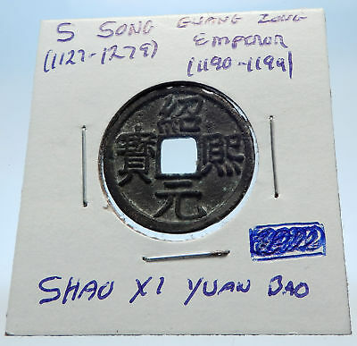 1190AD CHINESE Southern Song Dynasty Genuine GUANG ZONG Cash Coin CHINA i72338