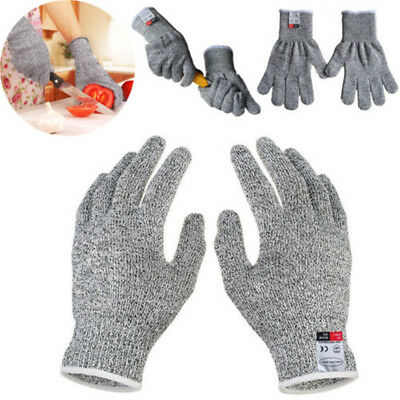 Cut Resistant Gloves Food Grade Level 5 Protect Anti Slash Cutting Durable Tool