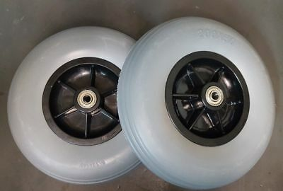 Power Wheelchair Rear Caster Tires 200x50 (8x2) Pride Jazzy/Jet Electric Pair