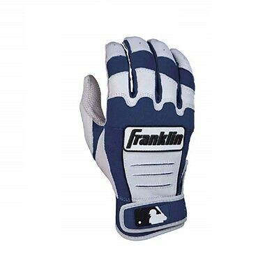 Franklin CFX Pro Batting Gloves Pearl/Navy Adult Small