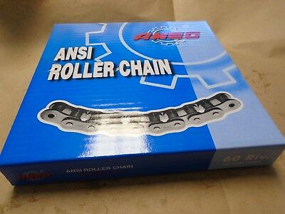 """AMEC, 60-1R ANSI Roller Chain, 160 Links, 3/4"""" Pitch  (10 ft)"""