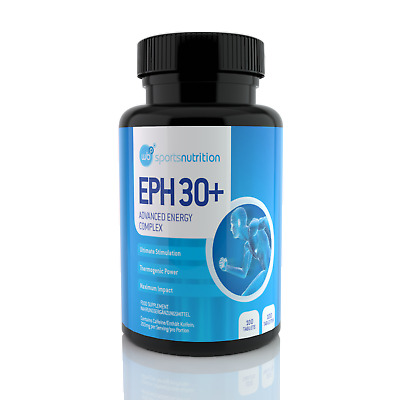 Pre-Workout Supplement EPH 30+ Ephedrine Free Pills Energy Booster Weight Loss