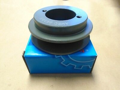 AMEC BK80H SINGLE GROOVE QD PULLEY W//  BUSHING CHOOSE YOUR SIZE!