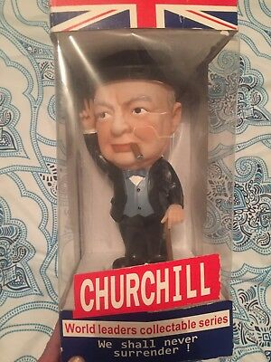 World Leaders Collectable Series Doll        Winston Churchill Vintage Numbered