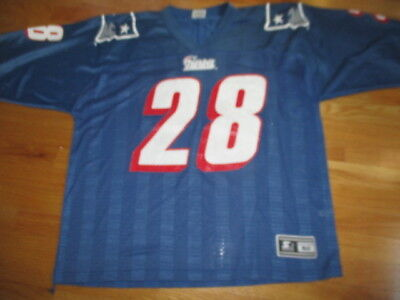 5bfbf67d1e0 Vintage Starter CURTIS MARTIN No. 28 NEW ENGLAND PATRIOTS (Size 52) Jersey