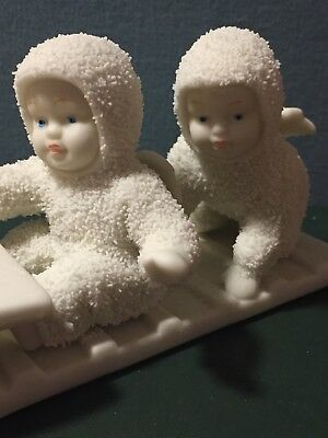 "snowbabies dept 56 "" Down The Hill We Go"""