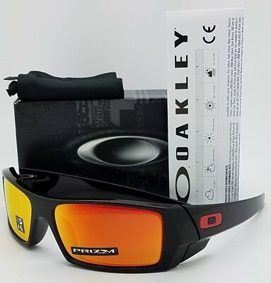 20ca7ee2643 NEW Oakley Gascan sunglasses Black Prizm Ruby 9014-44 Gas 9014-4460  AUTHENTIC