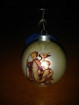 Sister Berta Hummel 1974 Glass Ornament The Guardian Angel Schmid Bros