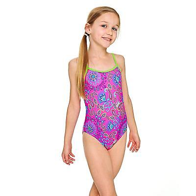 Zoggs Bold Baroque Yaroomba Floral Swimsuit Pink/Multi
