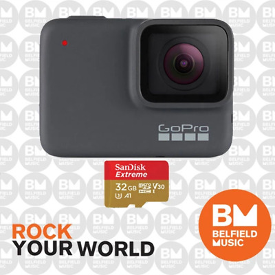 GoPro HERO7 Silver Action Video Camera HERO 7 Go Pro - Belfield Music