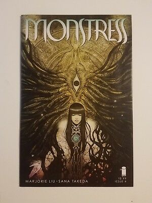 MONSTRESS #4 1st PRINT NM! Marjorie Liu,Sana Takeda  Image Comics