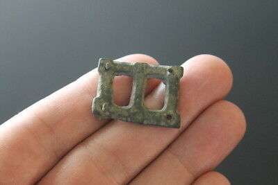 Roman Military bronze belt mount 2nd century