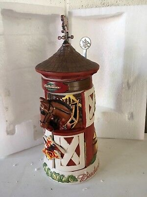 Budweiser Clydesdale Stable Stein Collector's First Edition