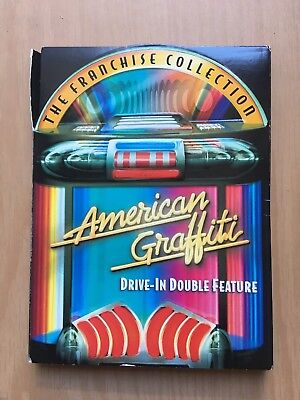 THE FRANCHISE COLLECTION American Graffiti- Drive-in Double Feature. pre owned.