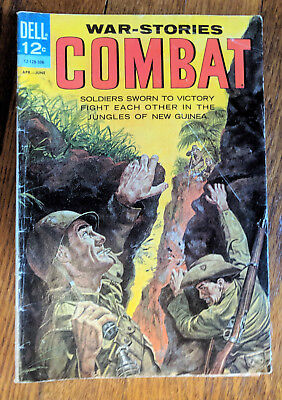 Dell War-Stories Combat # 8 - April-June 1963 Silver Age