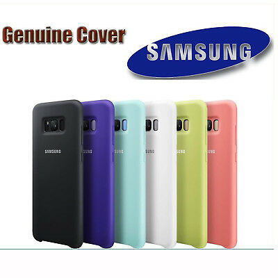 Original Genuine Samsung Silicone Bumper Case Cover For Galaxy Note 8 S8 S9 Plus