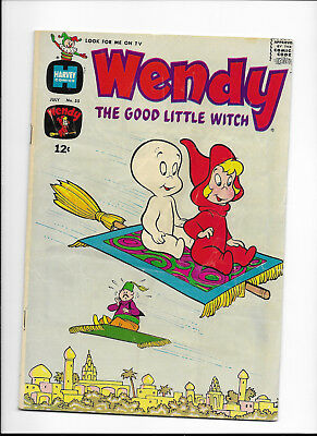 Wendy, The Good Little Witch #55 {Jul 1969 Harvey} Silver Age! Vg/f Solid Copy!