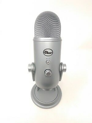 Blue Microphones Yeti , Professional USB Condenser Microphone - Space Gray