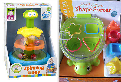 Shape Sorter and Spinning Bees - Baby Toys