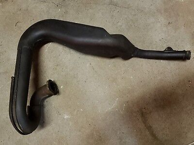 Yamaha DT250 1977 Exhaust header pipe muffler DT400 1977 1978