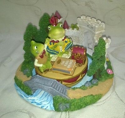 Yankee Candle Co. Frog Castle Candle Holder & Frog Prince Top $16.99