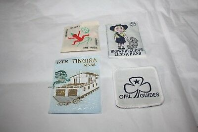 Girl Guide Brownie Australian Patches Lot # 5