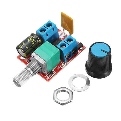 5V-30V DC PWM Speed Controller Mini Electrical Motor Control Switch LED Dimme CQ