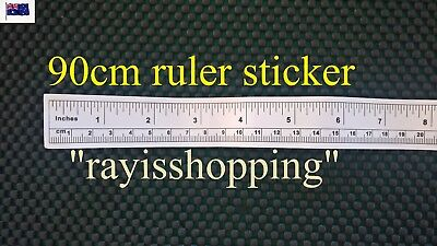 90cm, 36inch Paper Ruler Sticker, Sewing Machine Table Work Bench Measurements