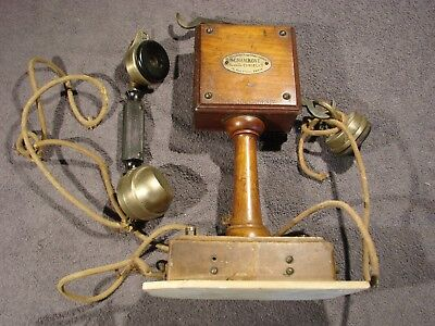 Telephone Ancien Grammont Eurieul + Type 10