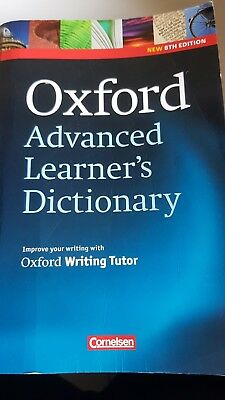 Oxford Advanced Learner's Dictionary (2010, Taschenbuch) inkl. Writing Tutor