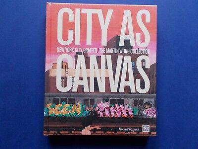 #brand New# City As Canvas - New York Graffiti - The Martin Wong Collection - Hc