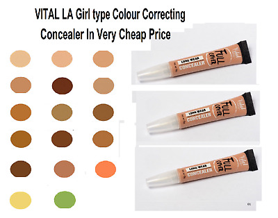 Vital LA Girl Type PRO CONCEALER 15 SHADES Available With *Fast & Free Postage*