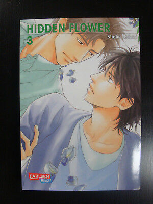 Hidden Flower 1 4 Shoko Hidaka Carlsen Comics Yaoi Boys Love