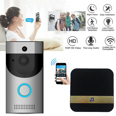 US Smart Wireless WiFi Doorbell HD Video Camera ✅Two-Way Talk ✅ Home Security