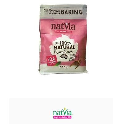 6 x 600g NatVia Sweetener Baking ( total 3.6kg )