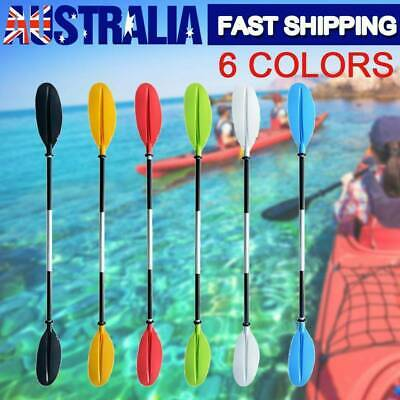 Premium 205cm Adjustable Boat Oar Kayak Canoe Paddle Detachable Split Shaft AU