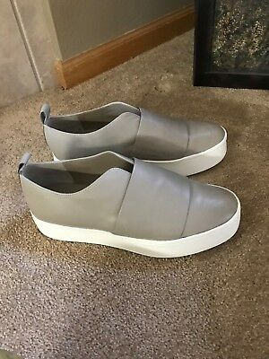 $250 VINCE WALLACE Slip On Leather