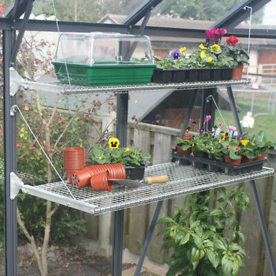 Greenhouse Integral Shelving/Staging