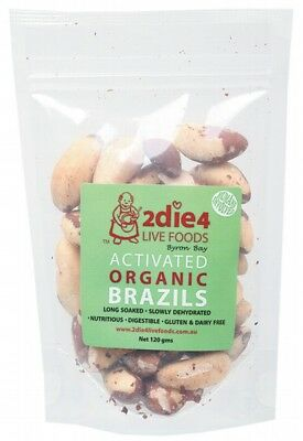 2DIE4 LIVE FOODS Activated Brazil Nuts 120g