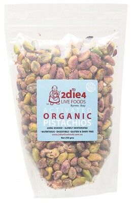 2DIE4 LIVE FOODS Activated Pistachios 250g