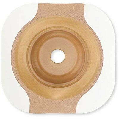 "Image CeraPlus 2-Piece Precut Convex Extended Wear Skin Barrier 1-1/8"" Stoma"
