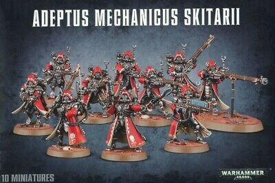 Adeptus Mechanicus Skitarii Games Workshop Warhammer 40,000 Brand New