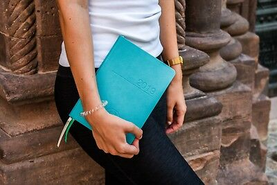 2019 Resilience Agenda Mental Health Diary - A5/Week to a Page-Teal