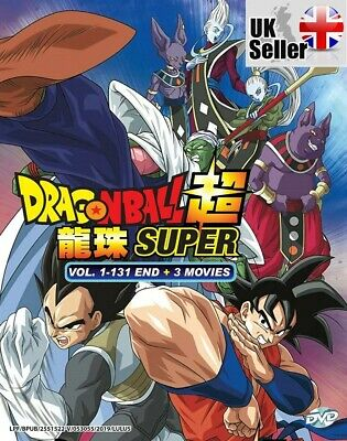 Dragon Ball Super 超 Complete Series ENGLISH DUB & SUB (1-131 End) - UK SHIPPING