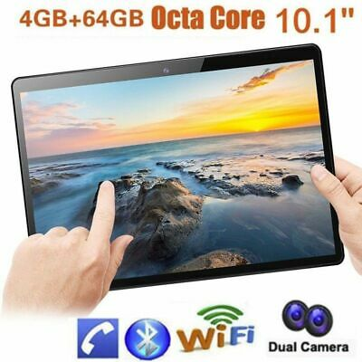 """10.1""""Tablet PC 4/64G Android 6.0 Octa-Core Dual SIM &Camera Phone Phablet Lot MG"""