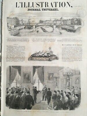 L'illustration journal universel 9 marzo 1861