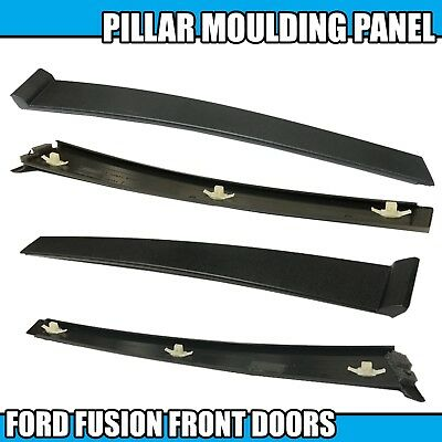 2x FORD FUSION FRONT RIGHT LEFT DOOR PILLAR MOULDING TRIM PANEL DRIVER SIDE