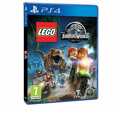 LEGO Jurassic World (PS4 PLAYSTATION 4 VIDEO GAME) *NEW/SEALED* FREE P&P